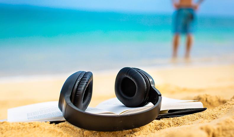Audiobooks nas férias